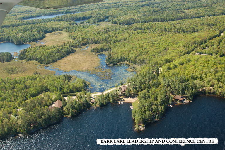 Bark Lake Leadership and Conference Centre Aerial View