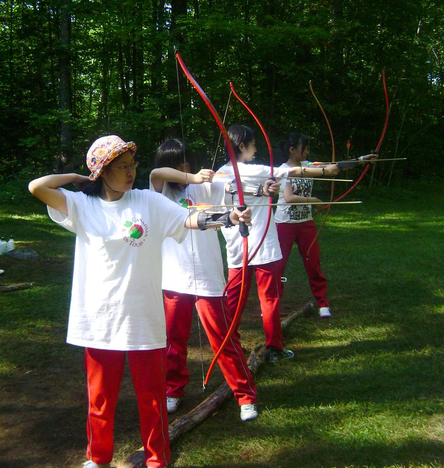 Archery at Bark Lake Leadership Centre