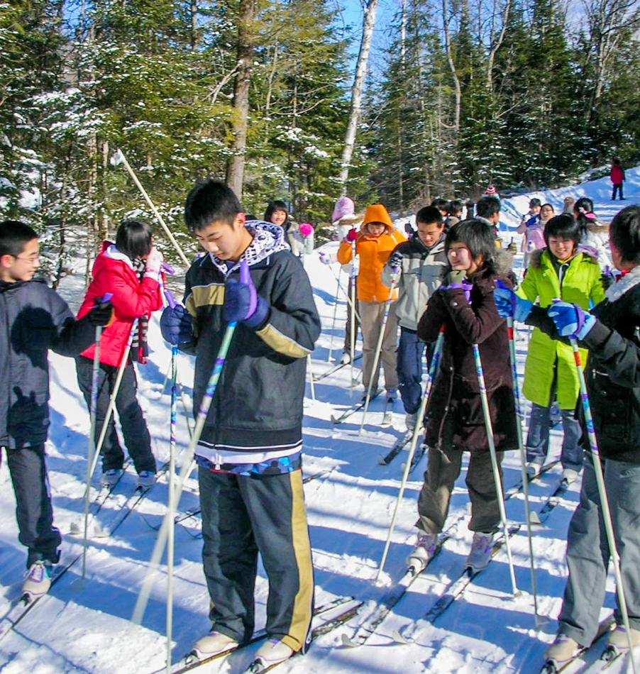 Cross Country/Nordic Skiing at Bark Lake Leadership Centre