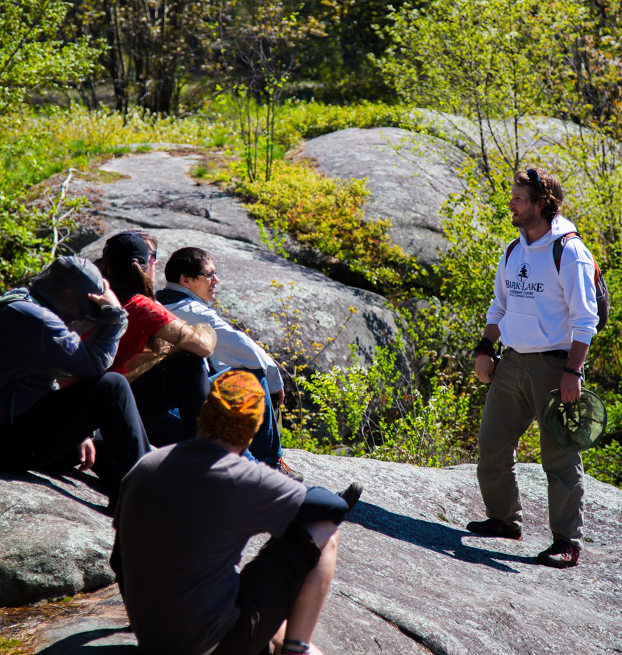 Ecology Hikes at Bark Lake Leadership Centre