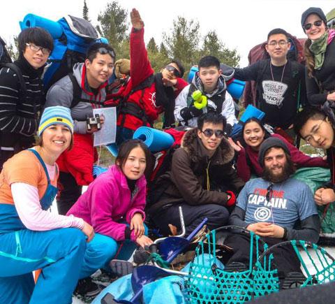 International Guests at Bark Lake Leadership Centre