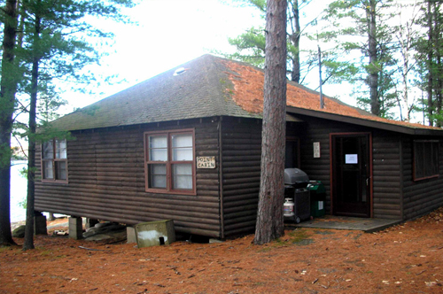 Point Cabins at Bark Lake Leadership Centre