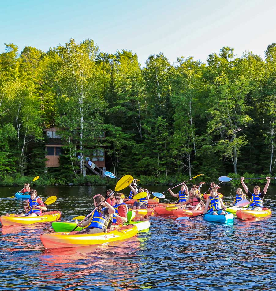 Programs Offered at Bark Lake Leadership and Conference Centre Kayaking