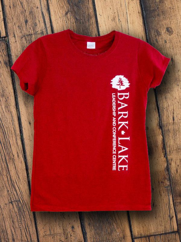 Bark Lake customizable side bar t-shirt