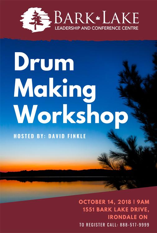 Drum workshop poster