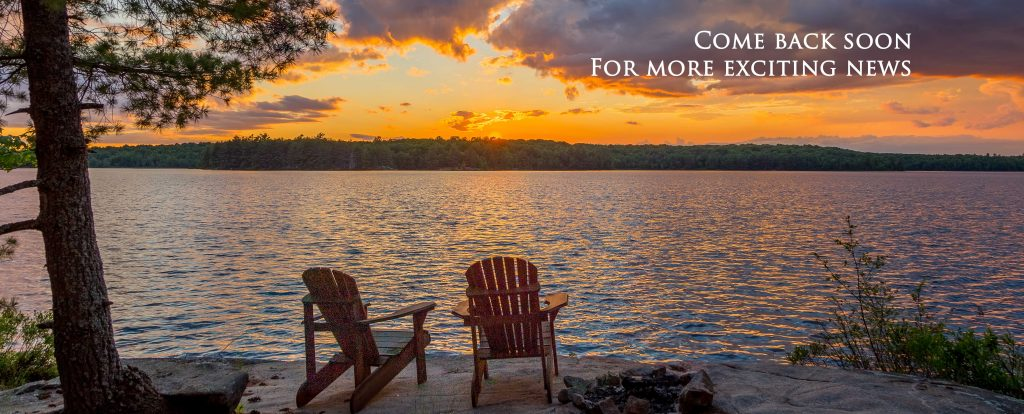 Come Back Soon for more exciting news at Bark Lake Leadership and Conference Centre