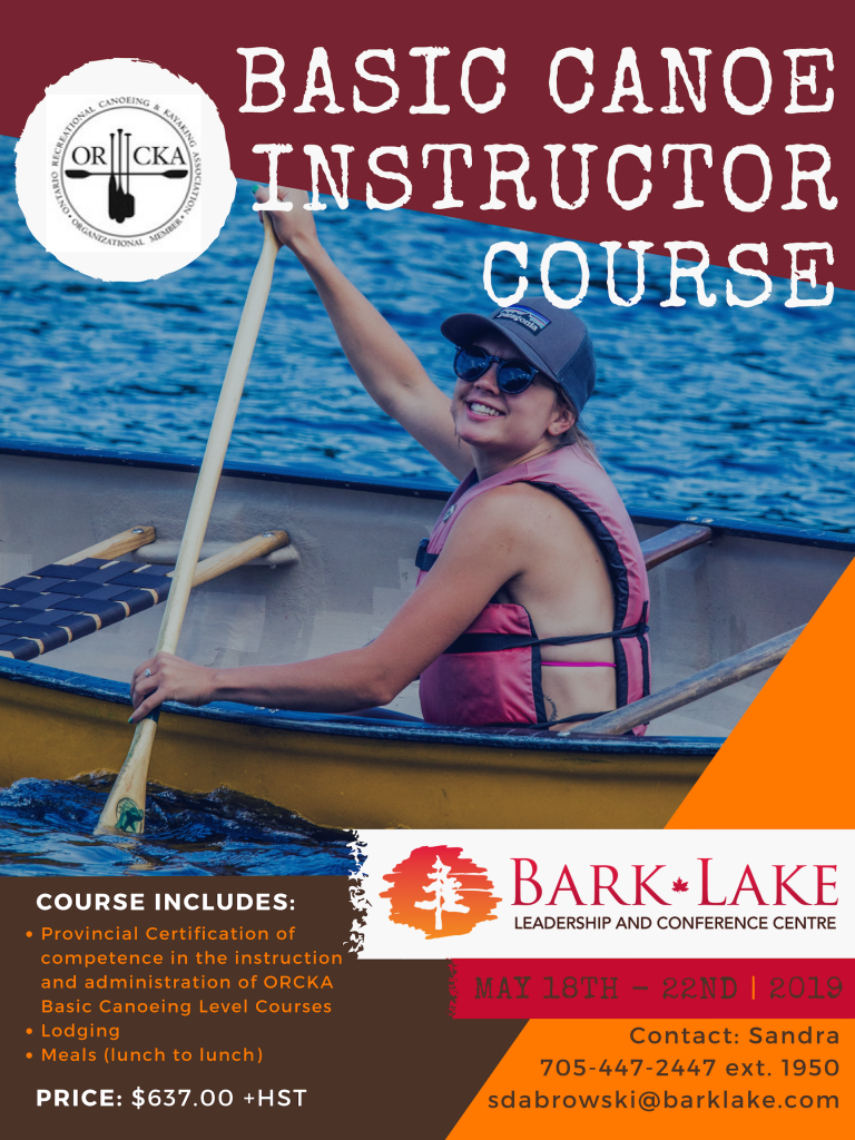 Information for Canoe Course